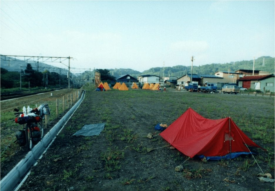 RSI's Todd Ruthman on one of his bicycle touring adventures