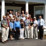 Chairing US National Research Council Acute Exposure Guideline Levels Committee in Woods Hole, Massachusetts (2004)
