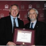 RSI's Daniel Krewski receiving University of Ottawa Innovator of the Year Award (2007)