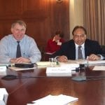 With Dr. Kulbir Bakshi at the US National Academy of Sciences Board on Environmental Studies and Toxicology