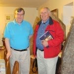 Discussing the World Breast Cancer Report with Dr. Peter Boyle at his Home in Lyon, France