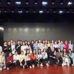 RSI's Daniel Krewski teaching Zumba to Nursing Students while on Field Trip to China (2018)