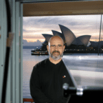 In Sydney while filming worldwide cancer documentary series