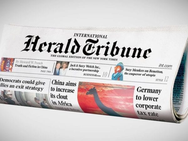 RSI's Cemil Alyanak undertook a complete analysis of the International Herald Tribune