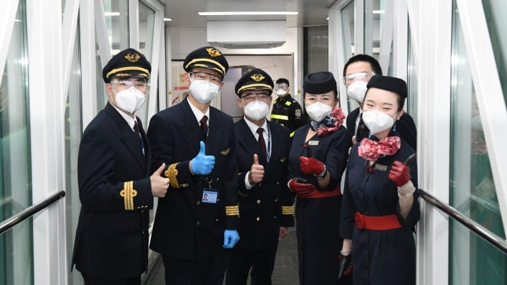Flights out of Wuhan resume on April 8 2020