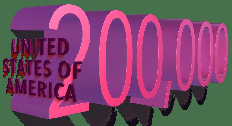 USA: Grim milestone