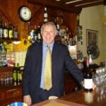 Daniel Krewski enjoying wines in France