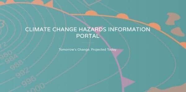 Climate Change Hazards Information Portal cover