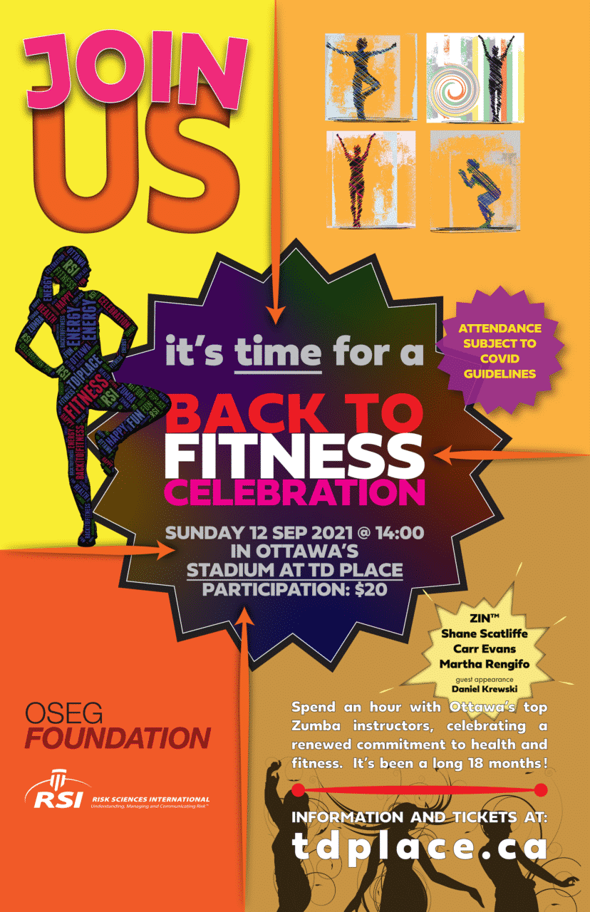 Back to Fitness 2021 poster