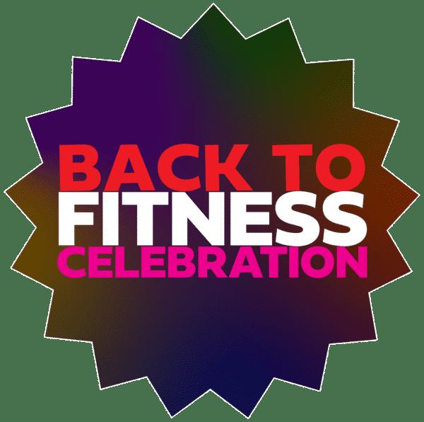 Back to Fitness Celebration logo