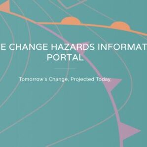 Climate Change Hazards Information Portal cover